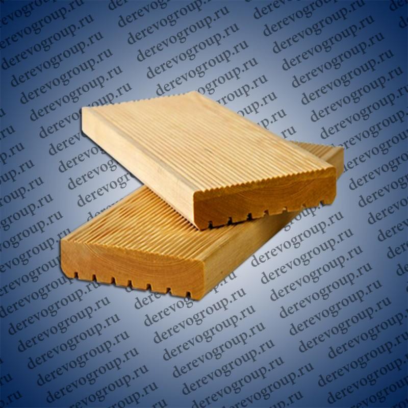 Террасная доска из лиственницы 34x120x2-6 м