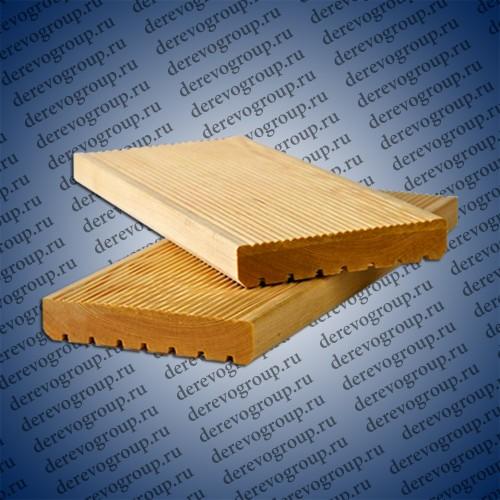 Террасная доска из лиственницы 28x140x2-4 м.