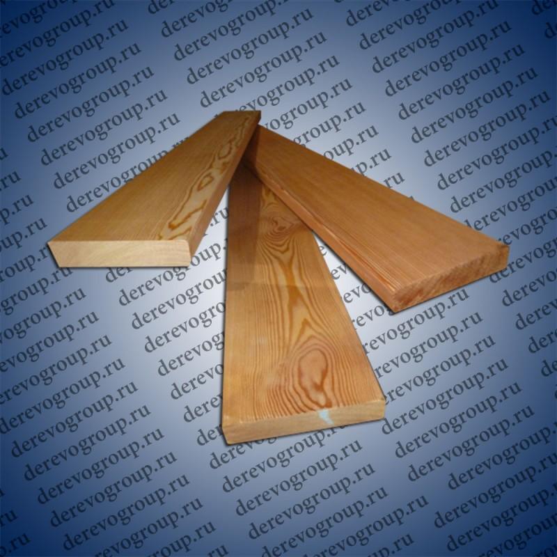 Обрезная доска из лиственницы 50x250x6м