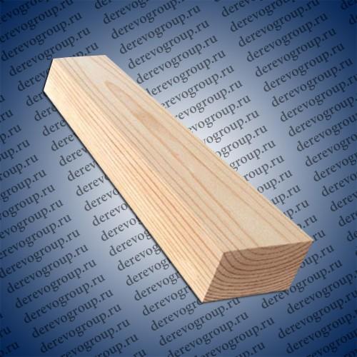 Обрезной брус из лиственницы 100x100x6м