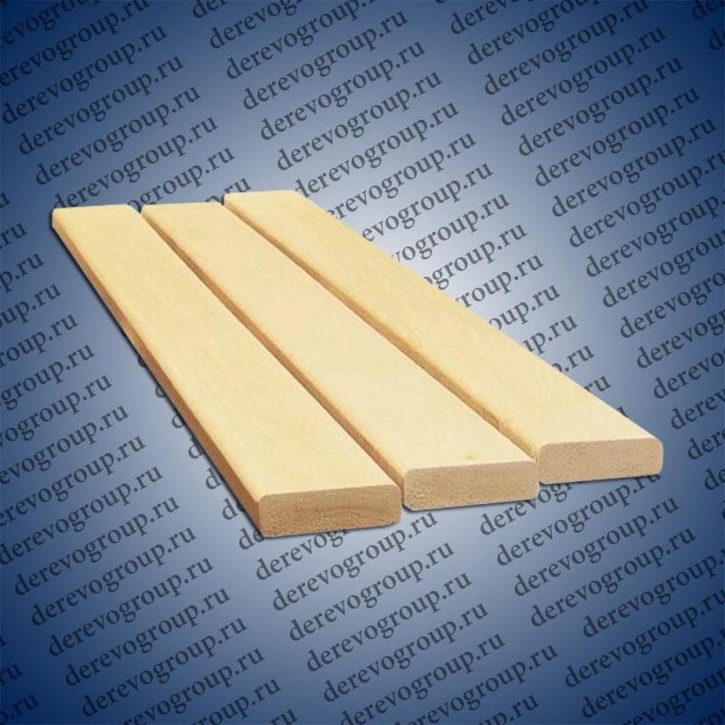 Полок из липы 27x90x1м-1,6м