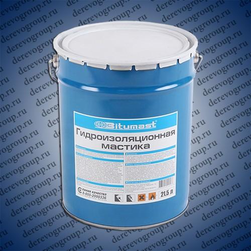 Мастика гидроизоляционная Bitumast 18 кг/21.5 л
