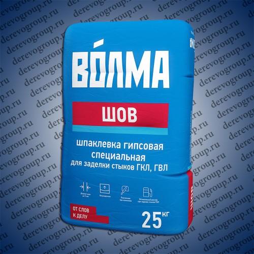 Шпаклевка гипсовая ВОЛМА Шов 25 кг