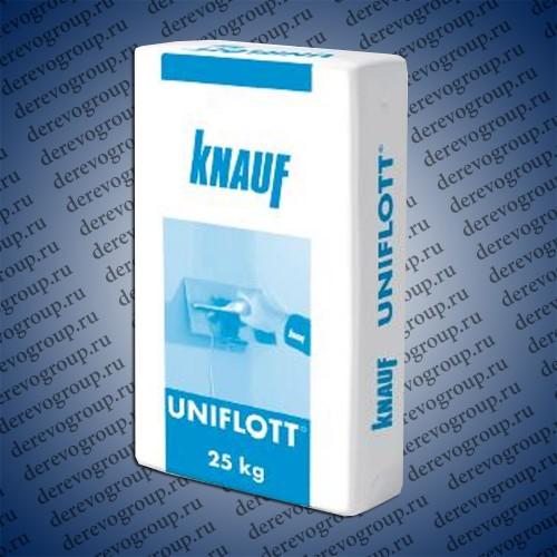 Шпаклевка гипсовая высокопрочная Knauf Унифлот 25 кг