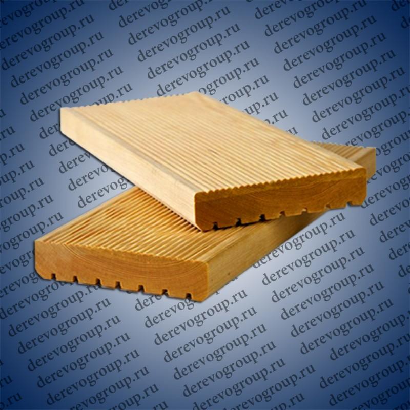 Террасная доска из лиственницы 34x140x2-6 м