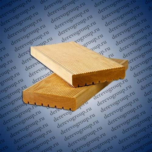 Террасная доска из лиственницы 28x90x2-4 м.