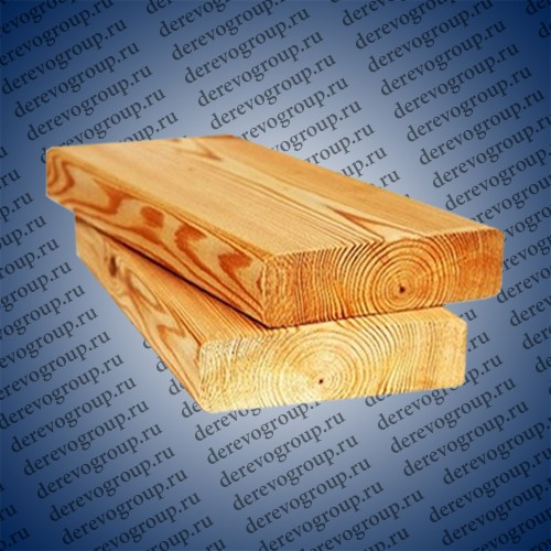 Палубная доска из лиственницы 25x140x2-4 м.
