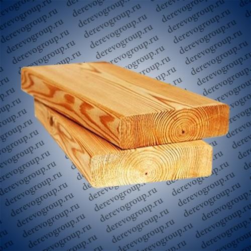 Палубная доска из лиственницы 25x90x2-4 м.