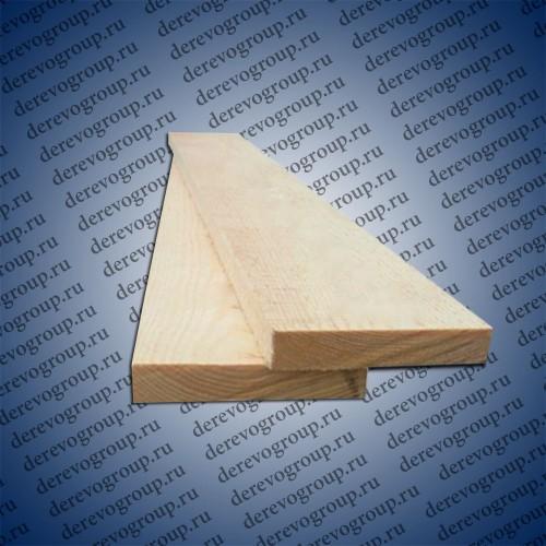 Обрезная доска камерной сушки 25x150x6м