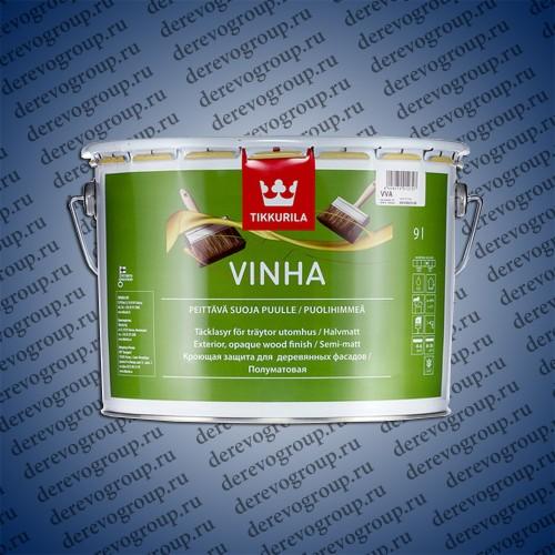 Полуматовый кроющий антисептик - Vinha Tikkurila