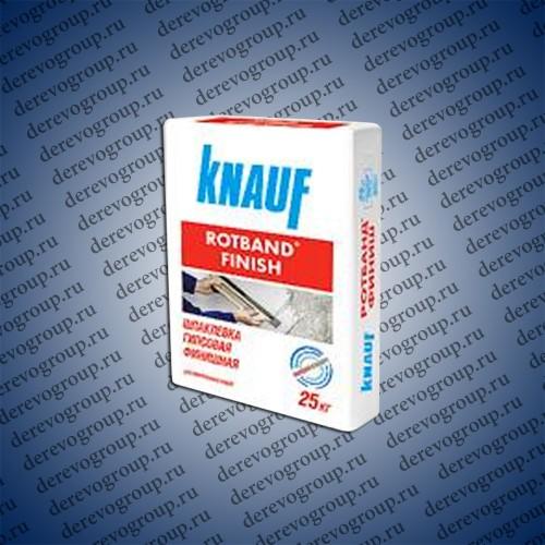 Шпаклевка гипсовая финиш Knauf Ротбанд 25 кг