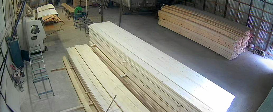 склад пиломатериалов